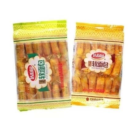 Picture of Daliyuan French Soft Bread,flavor(Orange Flavor, Milk Flavor) 360g,1 package | 达利园法式软面包(香橙味,香奶味)360g,1包