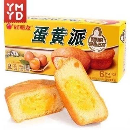 Picture of Orion cake(egg yolk pie) 6 pieces,1 box, 1*16 box | 好丽友蛋糕(蛋黄派)6枚,1盒,1*16盒