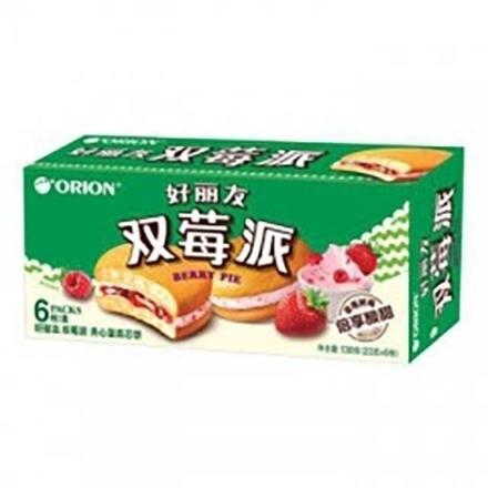 Picture of Orion cake(Dual Raspberry Pie) 6 pieces,1 box, 1*16 box | 好丽友蛋糕(双莓派)6枚,1盒,1*16盒