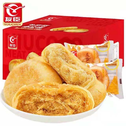 Picture of Youchen meat muffins,1, 1 box about 70 | 友臣肉松饼,1个,1盒约70个