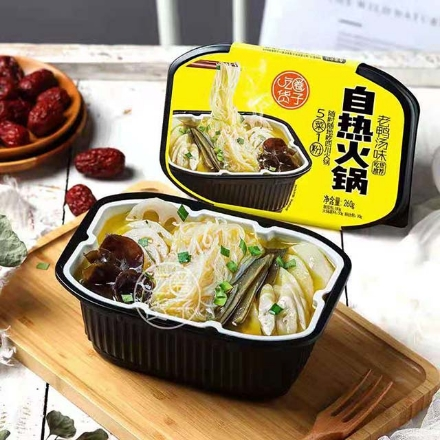 Picture of Chihuo Self-heating Hot Pot (Duck Soup) 260g,1 box, 1*24 box,吃货圈子自热火锅(老鸭汤)260g,1盒,1*24盒