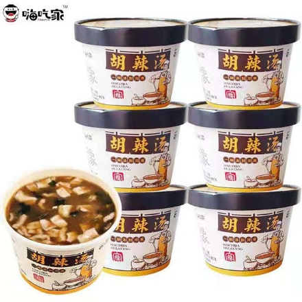Picture of Hi Chi Jia (Hu spicy soup, hot and sour noodles, golden soup noodles, hemp spicy noodles),1 barrel, 1*6 barrel | 嗨吃家(胡辣汤,酸辣粉,金汤爆粉,麻辣小面),1桶,1*6桶