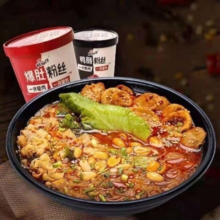 Picture of Abozai (Duck intestine vermicelli,fried belly vermicelli),1 barrel, 1*6 barrel|阿伯仔(鸭肠粉丝,爆肚粉丝),1桶,1*6桶
