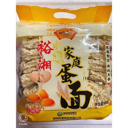 Picture of Yuxiang (Family egg noodles, fresh mushroom noodles) 900g,1 pack, 1*9 pack|裕湘面(家庭蛋面,鲜菇面)900g,1包,1*9包
