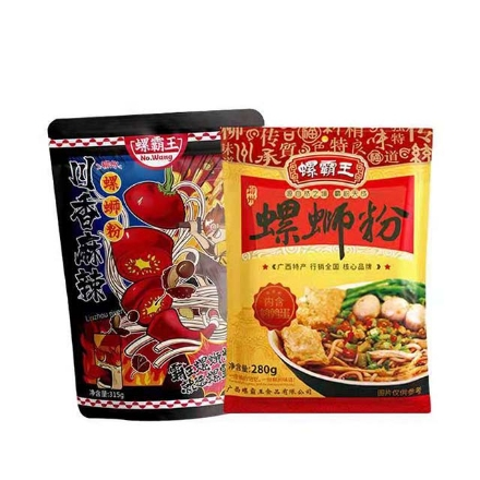 Picture of Luo Bawang (Luosifen 280g,luosifen 315g),1 pack, 1*24 pack|螺霸王(螺狮粉280g,螺狮粉315g),1包,1*24包