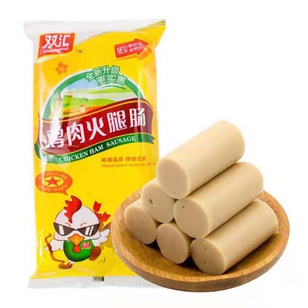Picture of Shuanghui Chicken Sausage 8 sticks of 240g,1 pack, 1*14 pack|双汇鸡肉肠8支240g,1包,1*14包